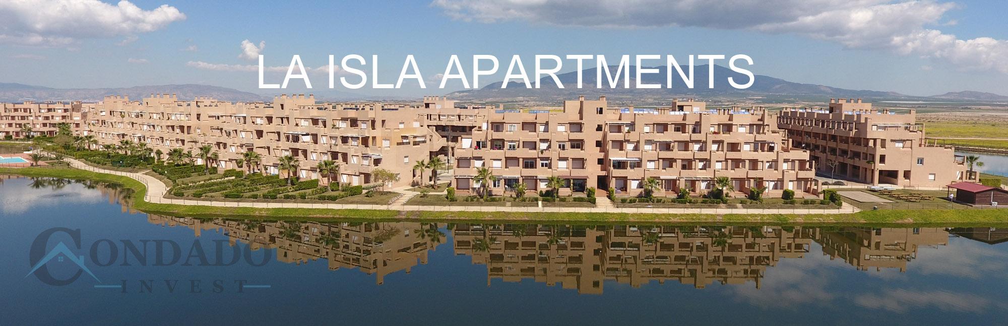 La Isla Apartments Header Condado de Alhama